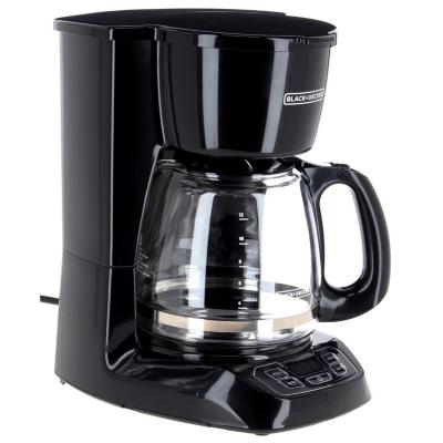 Cafetera eléctrica 1,5 litros negro