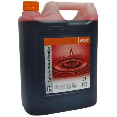 Aceite Mezcla para Motor 2 Tiempos 5000 cc