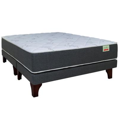 Cama Europea Aloe Vera 2 plazas long BD