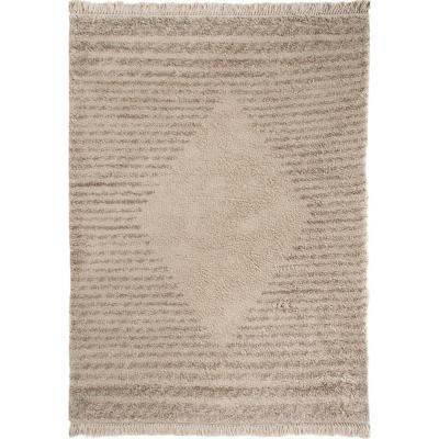 Alfombra flat 160x230 cm beige