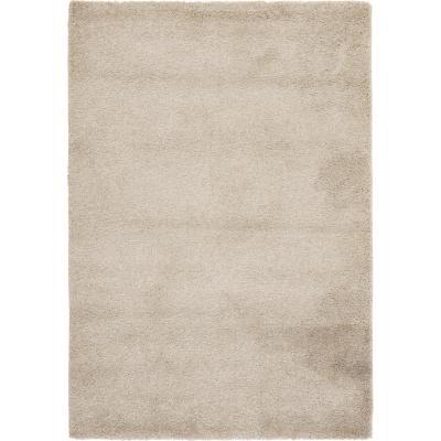 Alfombra lisa 120x170 cm beige