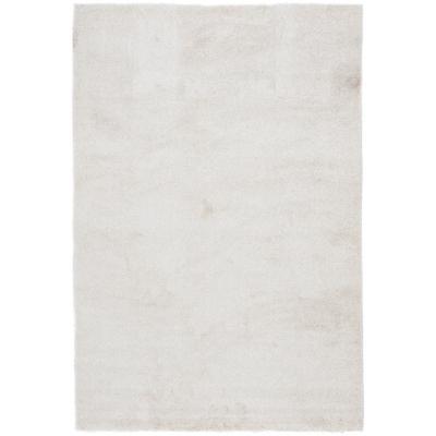 Alfombra lisa 160x230 cm beige