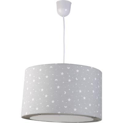 Lámpara de colgar Estrellas y Lunas E27