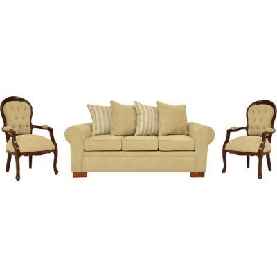 Juego de living sofá 3 cuerpos + 2 sitiales