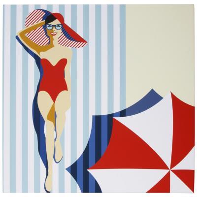 Canvas Vintage 70x70 cm