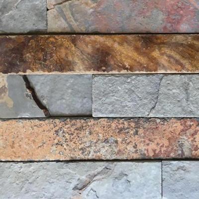 Piedra pizarra oxidada 15x60 0.72m2