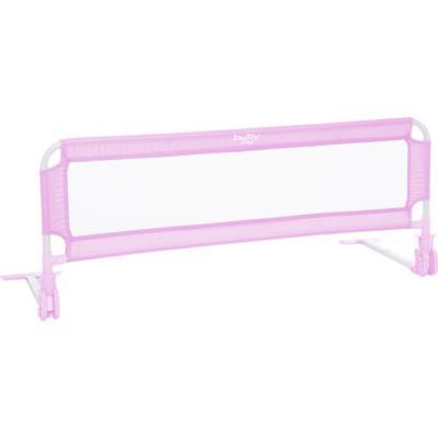 Baranda de seguridad para cama rosada