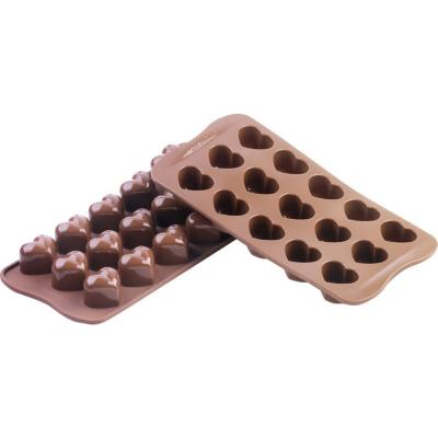 Molde silicona chocolate monamour