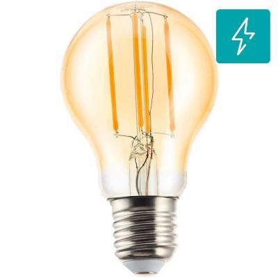 Ampolleta LED filamentos E27 6W luz cálida
