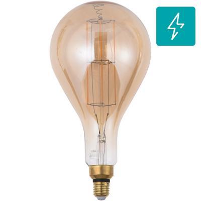 Ampolleta LED filamentos E27 8W luz cálida