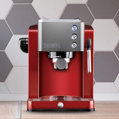 Cafetera eléctrica 1,2 litros rojo
