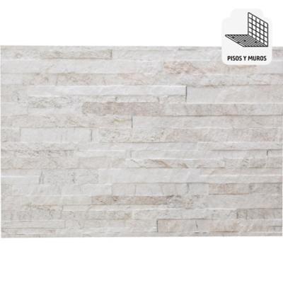 Porcelanato 43x63 cm 1,65 m2 blanco