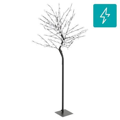 Lámpara pie árbol blanca 176 l led