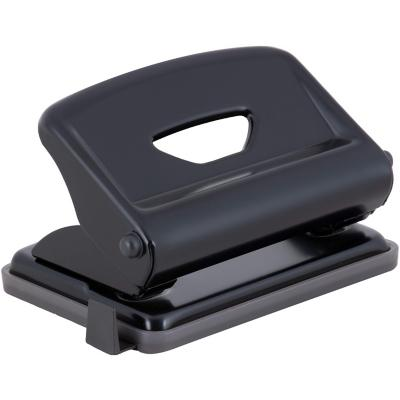 Perforadora metálica 15 hojas negra