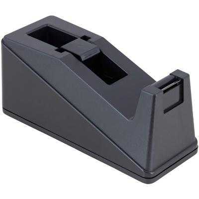 Dispensador cinta adhesiva mediana negra