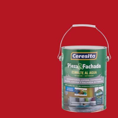 Pieza y fachada biotech rojo italiano gl