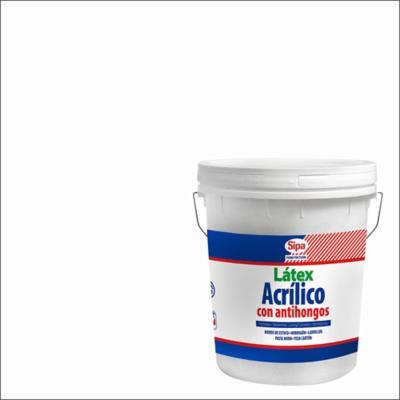 Latex acrilico antihongo blanco 4gl