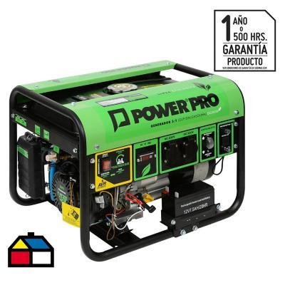 Generador eléctrico a gas 3000W