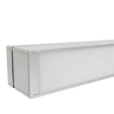Luminaria linear office para tubo led 120cm k/mo