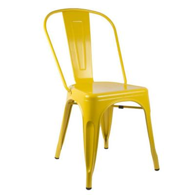 Silla tolix amarilla