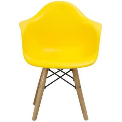 Silla infantil 43x41x57 cm amarilla