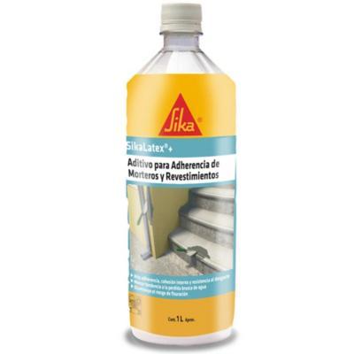 Botella 1 lt aditivo adherencia Sika Látex