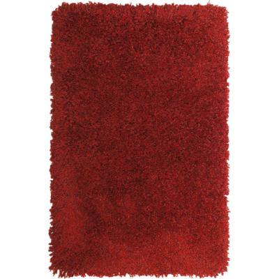Bajada de cama Bruselas 60X120 cm rojo