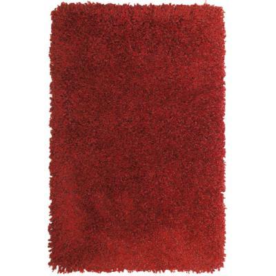 Alfombra Bruselas 160X230 cm rojo