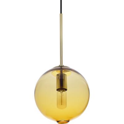 Lámpara de colgar Vidrio Bubble Ambar Ámbar