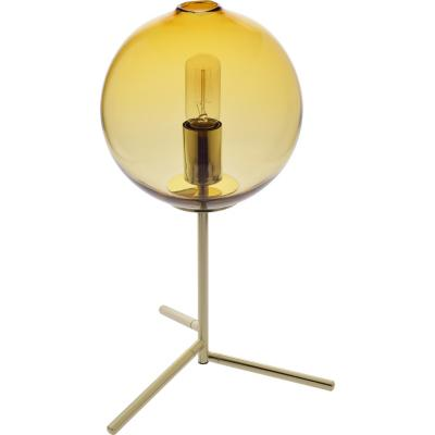 Lámpara de mesa Vidrio Bubble Ambar Ámbar