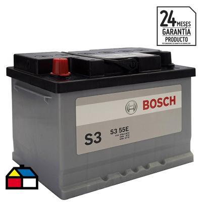 Batería para auto 55 A positivo izquierdo 390 CCA