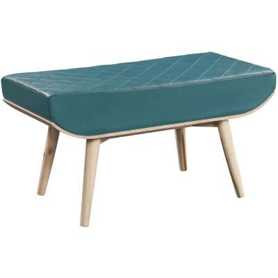 Banqueta laura 90x39x45 cm madera verde