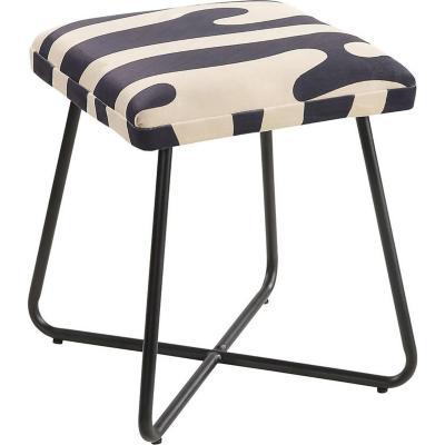 Pouff zebra 35x35x43 cm