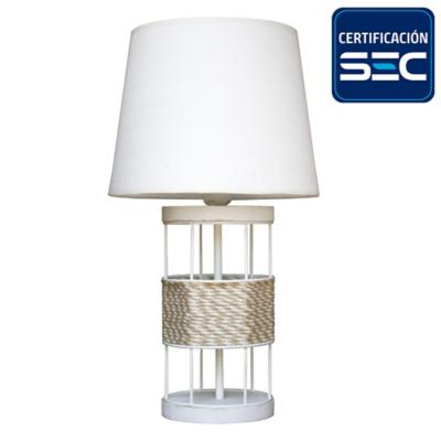 Lámpara sobremesa 42 cm 1 luz 60 W