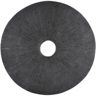 Placa redonda gris 49,5x5,5 cm