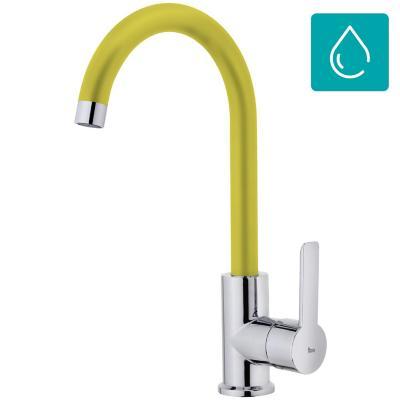 Monomando lavaplatos Inca IN-915 amarillo