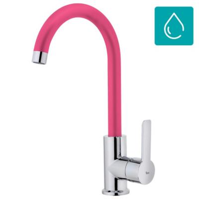 Monomando lavaplatos Inca IN-915 rosado