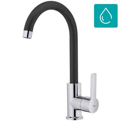 Monomando lavaplatos Inca IN-915 negro