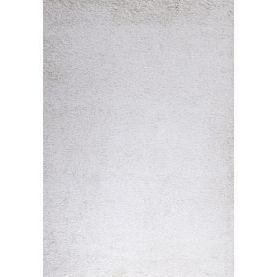 Alfombra shaggy Bruselas 133X190 cm crema