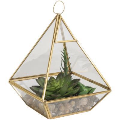 Suculenta piramide verde 25 cm
