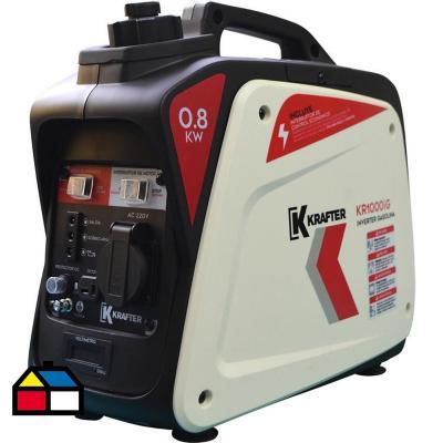 Generador eléctrico inverter a gasolina 800W