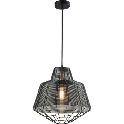 Lámpara de colgar Metal Reja Panal Natural