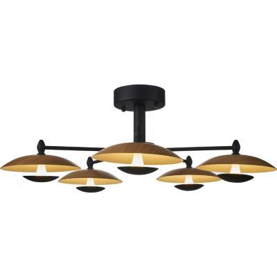 Lámpara de techo Platillo led 5 luces