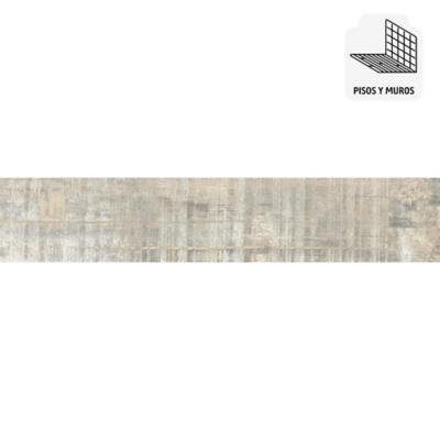 Porcelanato gris 23x120 cm 1,1 m2