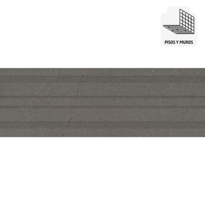 Porcelanato gris 40x120 cm 1,4 m2