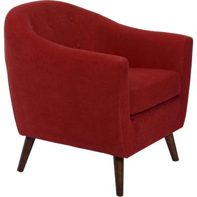 Sillón  77x77x78 cm rojo