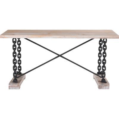 Mesa de comedor rectangular 160x80 cm