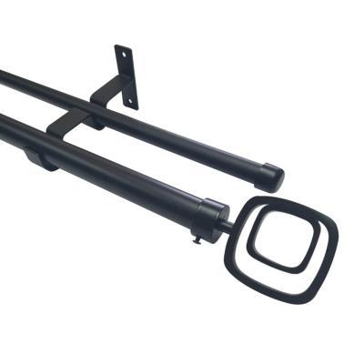 Set Negro Doble Cuadro Doble 19/28 x 1.50 m