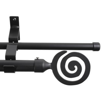Set Negro Doble Bucle 19/28 x 1.50 m