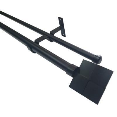 Set Negro Doble Rombo 19/28 x 2.00 m